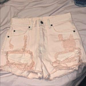 LF carmar jean shorts size 25
